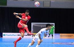 ĐT futsal Việt Nam thắng nghẹt thở ĐT futsal Bahrain