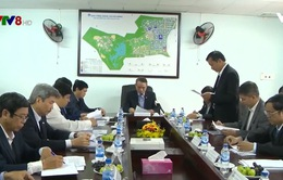 Bí thư Thành ủy Đà Nẵng làm viêc với Ban Quản lý Khu công nghệ cao