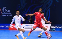 Giải Futsal VĐ châu Á: Kịch bản nào để ĐT Việt Nam đi tiếp tại bảng A