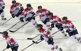 Hàn Quốc - Triều Tiên lập đội khúc côn cầu chung, tham gia thi đấu giao hữu trên băng