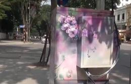 Tủ điện nhem nhuốc trở thành tác phẩm nghệ thuật