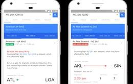 Google ra mắt công cụ dự đoán các chuyến bay bị hoãn