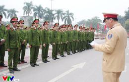 Hơn 600 học viên Học viện cảnh sát được tăng cường hỗ trợ CATP Hà Nội dịp Tết Nguyên đán