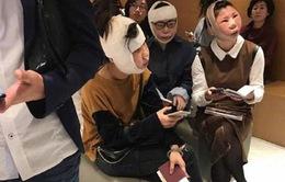 Một phụ nữ Trung Quốc bị chết não khi phẫu thuật thẩm mỹ