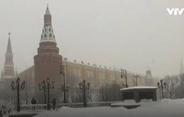 Tuyết rơi kỷ lục gây thương vong tại Moskva, Nga
