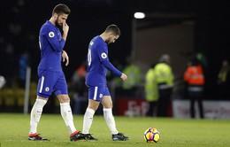 Vòng 26 Ngoại hạng Anh: Chelsea thua đậm trên sân Watford