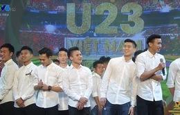 """CLIP các cầu thủ U23 Việt Nam """"bóc mẽ"""" nhau không thương tiếc"""
