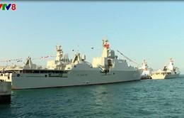 Lễ thượng cờ hai tàu hộ vệ tên lửa Quang Trung và Trần Hưng Đạo