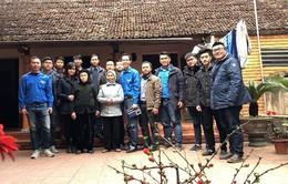 Đoàn Thanh niên Ban Khoa giáo thăm và tặng quà Mẹ Việt Nam anh hùng