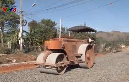 Tây Nguyên khẩn trương tu sửa đường sá phục vụ người dân đón Tết