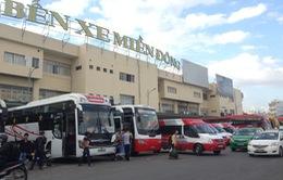 Giá vé xe khách tại TP.HCM tăng đến 60%