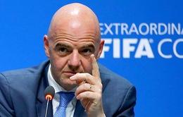 Ngày 8/2, Chủ tịch FIFA sang thăm và làm việc tại Việt Nam