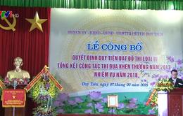 Duy Tiên, Hà Nam trở thành đô thị loại IV