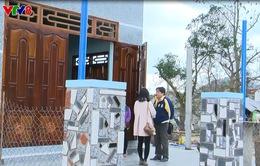 Người dân vùng bão Nam Trung Bộ có nhà mới trước Tết