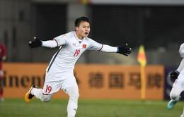 """Quang Hải của U23 Việt Nam được đề cử """"Cầu thủ trẻ hay nhất Đông Nam Á"""" năm 2017"""