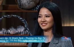 """Shark Tank Việt Nam - Tập 14: Nữ start-up xinh đẹp khẳng định """"không có chuyện khai khống con số"""""""