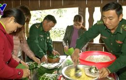 Ngày hội bánh chưng xanh hướng về đồng bào nghèo nơi biên giới Quảng Nam
