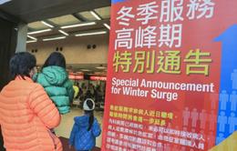 Hong Kong đóng cửa nhiều trường học do dịch cúm