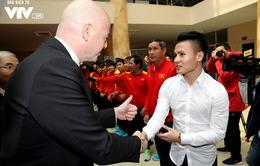 Chủ tịch FIFA Infantino tới Việt Nam vì hiệu ứng U23 Việt Nam