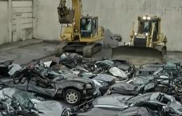 Philippines phá hủy lô xe sang nhập lậu trị giá 1,2 triệu USD
