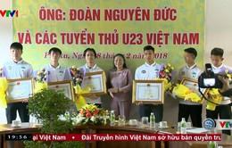 Tỉnh Gia Lai khen thưởng các cầu thủ U23 Việt Nam