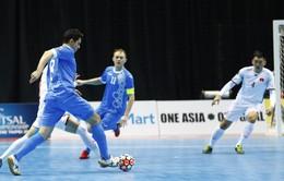 Thất bại trước ĐT Uzbekistan với tỉ số 1-3, ĐT Việt Nam dừng bước ở tứ kết