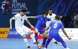 Kết quả vòng tứ kết futsal châu Á 2018: Không có bất ngờ!