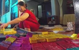 Làng nghề bánh mứt Kim Long rộn ràng vụ Tết