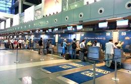 Sân bay quốc tế Nội Bài tăng cường phục vụ cao điểm Tết
