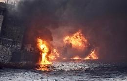 Tàu chở dầu Iran bị chìm gần cảng Thượng Hải (Trung Quốc)