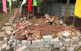 Phát hiện gần 6 tấn đầu đạn trong vườn nhà dân ở Hưng Yên