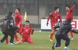 VIDEO: Xem lại loạt đá luân lưu kịch tính U23 Việt Nam thắng U23 Iraq