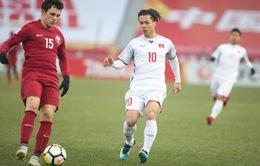 TRỰC TIẾP BÓNG ĐÁ U23 Qatar 0-0 U23 Việt Nam: Hiệp một