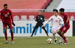 VIDEO: Tổng hợp diễn biến hiệp một U23 Qatar - U23 Việt Nam