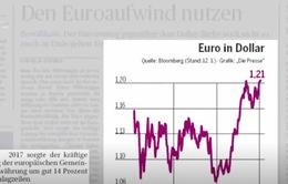 Đồng Euro tăng giá mạnh - Tâm điểm báo chí châu Âu tuần qua