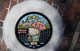 Chiến dịch khoác áo mới cho nắp cống tại Nhật bản