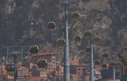 Cáp treo - Giải pháp chống tắc đường ở La Paz, Bolivia