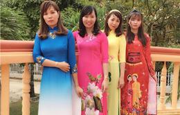 Cán bộ, công chức, viên chức nữ TP.HCM mặc áo dài trong tháng 3