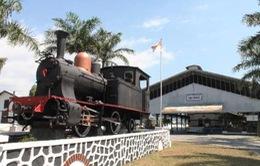 Độc đáo bảo tàng xe lửa cổ nhất ASEAN