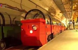 Biến đường sắt xe lửa ngầm… thành bảo tàng