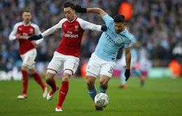 Lịch thi đấu bóng đá châu Âu rạng sáng ngày 02/03: Arsenal tái đấu Man City