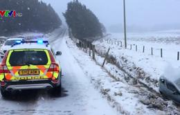 Tuyết rơi dày tại Anh, 4 người thiệt mạng vì tai nạn giao thông