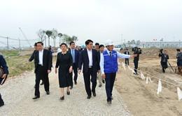 Hà Nội kiểm tra tiến độ dự án nhà máy nước mặt sông Đuống