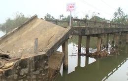 Thừa Thiên Huế: Hiểm nguy rình rập từ những cầu, cống xuống cấp