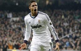 Raphael Varane báo tin buồn cho Real Madrid