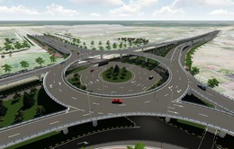 Khởi công vòng xuyến 2 tầng giữa quốc lộ 1A đoạn khu công nghiệp Tam Hiệp Chu Lai