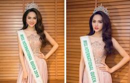 Hương Giang khoe thần thái tươi tắn sau 1 ngày đăng quang Hoa hậu Chuyển giới Quốc tế