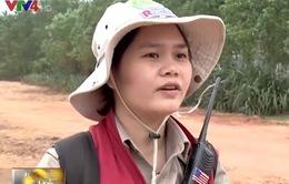 Người phụ nữ đặc biệt của đội rà phá bom mìn