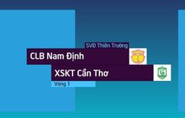 VIDEO Tổng hợp trận đấu: CLB Nam Định 0-0 XSKT Cần Thơ