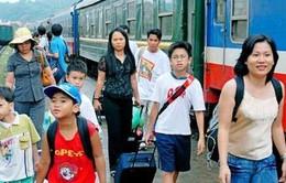 Khách du lịch theo đoàn được giảm giá vé tàu đến 40%